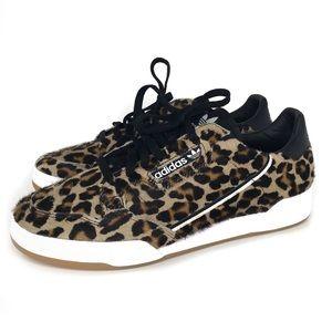 adidas Originals CONTINENTAL 80 Pony Hair Leopard